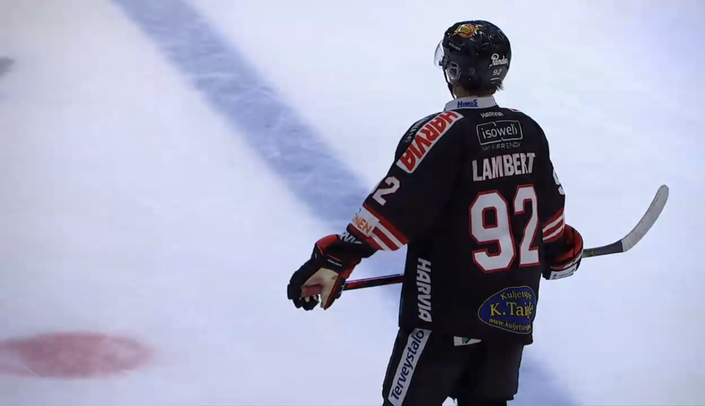 Brad Lambert - Repêchage 2022 - InStat Hockey