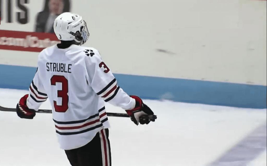 Jayden Struble - InStat Hockey - Canadiens